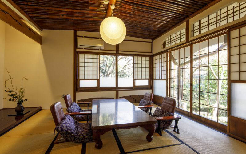 七番のお部屋の写真 12畳の和室
