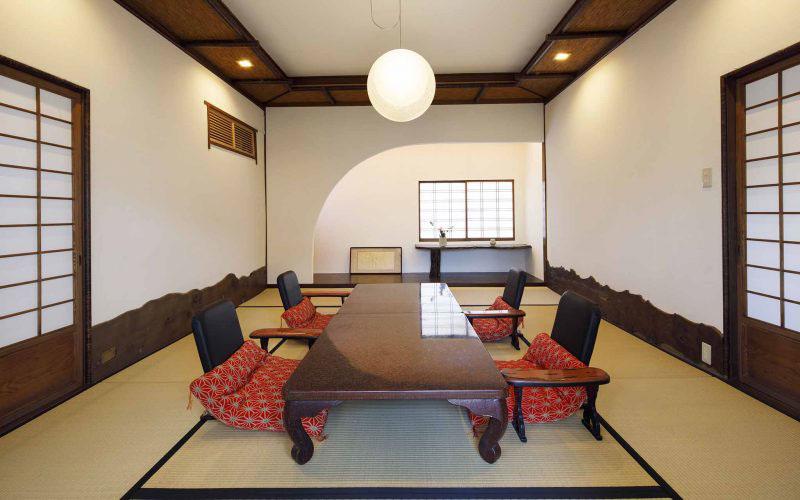 熊本料亭田吾作 (三番のお部屋)