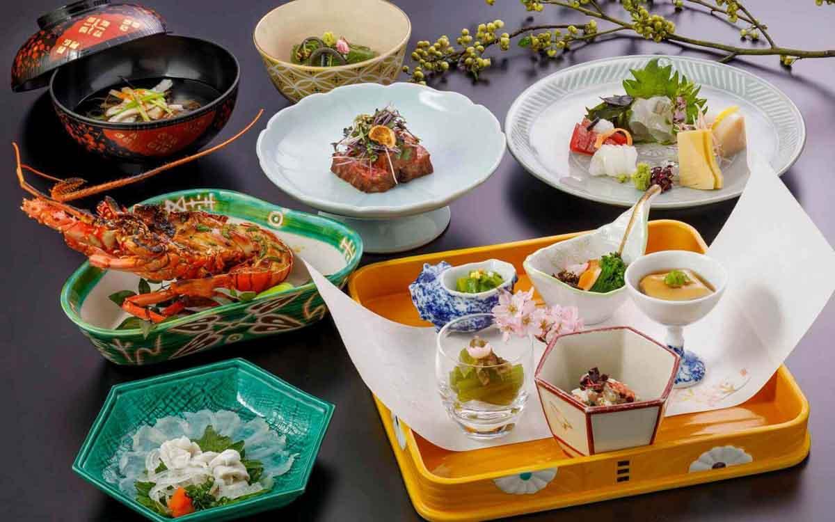 熊本料亭田吾作 季節のお料理の写真